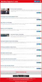 Maritime Reporter E-news subscription